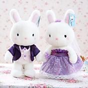 ぬいぐるみ アイデアおもちゃ斬新さ玩具 アイデアジュェリー Rabbit プラッシュ アイボリー 男の子向け / 女の子向け