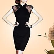 女性の古代の方法を復元風が袖のドレスの襟は、自分の道徳性を養うキャップlifver