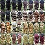 La extensión del pelo - para Mujer - Sintético - Múltiples colores -Rizado/Ondulado/Ondulado Natural/Ondulado Amplio/Ondulado Grande/Ondulado
