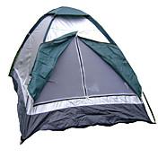 AOTU 2人 テント シングル キャンプテント 防水 防雨 のために 狩猟 ハイキング 釣り ビーチ キャンピング 旅行 屋外 1500-2000 mm ポリエステル-50*9*9 cm