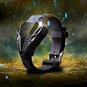 Hombre Reloj de Pulsera Reloj Militar Reloj digital Digital LED Silicona Banda Negro Blanco