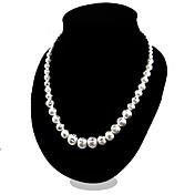 女性 チェーンネックレス 純銀製 ファッション コスチュームジュエリー ジュエリー 用途 パーティー カジュアル