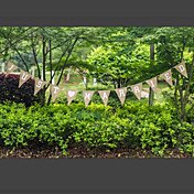 Fiesta de Boda Lino Material Mixto Decoraciones de la boda Tema Jardín / Tema Clásico Invierno Primavera Verano Otoño Todas las Temporadas