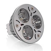GU5.3(MR16) Focos LED MR16 3 leds LED de Alta Potencia Blanco Cálido 250lm 3000-3200K DC 12V
