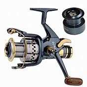 Carrete de la pesca Carrete para pez carpa 5.2:1 10 Rodamientos de bolas IntercambiablePesca de Mar / Pesca al spinning / Pesca de agua