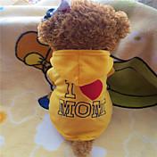 Perro Saco y Capucha Ropa para Perro Amarillo Rosa Disfraz Para mascotas