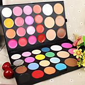 44 Coloretes Mate Brillo Extendido Gloss colorido Cobertura Corrector Natural Cara Ojos Labios Color disponible