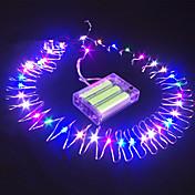 16.5 ft 50 llevó sumergible batería alambre cuerda impulsado la decoración del partido la luz de hadas