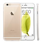 Funda Para Apple iPhone 6 iPhone 6 Plus Ultrafina Transparente Funda Trasera Color sólido Suave Silicona para iPhone 6s Plus iPhone 6s