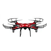 RC Dron X6SW 4 Canales 6 Ejes 2.4G Con Cámara Quadccótero de radiocontrol  FPV Acceso En Tiempo Real De Video Con Cámara Quadcopter RC