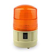 バッテリーを取り付け、青色dearroad電源車のスクールバスの磁気警告フラッシュビーコンストロボ非常灯赤/アンバー/