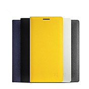 Funda Para OnePlus Funda OnePlus Soporte de Coche Activado / Apagado Automático Flip Funda de Cuerpo Entero Color sólido Dura Cuero de PU