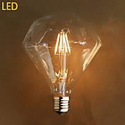 e27 4w g125 llevó la escena de la fuente de la luz de la lámpara del edison del diamante