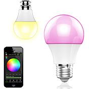 4.5wのスマートなアプリケーションの制御ワイヤレスブルートゥースled rgbランプ/ライト1pcs