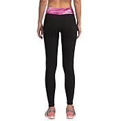 Vansydical® Mujer Camiseta interior / Pantalones ajustados de running / Leggings de gimnasio - Gris, Rojo, Verde Deportes Medias / Mallas