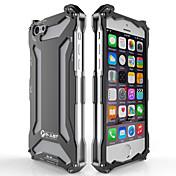 Para Funda iPhone 5 Carcasa Funda Antigolpes Cubierta Trasera Funda Armadura Dura Metal para iPhone SE/5s iPhone 5