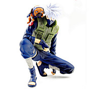 Naruto Hatake Kakashi PVC Las figuras de acción del anime Juegos de construcción muñeca de juguete