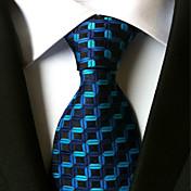 Corbata (Azul , Poliéster)- En Ángulos