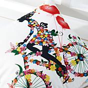 Poliéster Cobertor de Cojín , Novedad Moderno/Contemporáneo / Campestre / Casual / Al Aire Libre