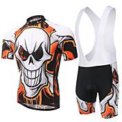 XINTOWN Manga Corta Maillot de Ciclismo con Shorts Bib Bicicleta Petos de deporte/Culotte con tirantes Camiseta/Maillot Sets de Prendas,