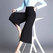 婦人向け カジュアル / ストリートファッション ブーツカット パンツ,ポリエステル 伸縮性なし