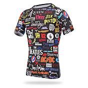 XINTOWN サイクリングジャージー 男性用 半袖 バイク ジャージー Tシャツ トップス サイクルウェア 速乾性 抗紫外線 高通気性 ビデオ圧縮 軽量素材 ファッション サイクリング / バイク