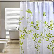 シャワー用カーテン-バロック調-ポリ/コットンブレンド-200x180cm