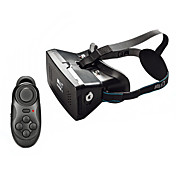 3.5〜6スマートフォンritech II + Bluetoothコントローラ用VRバーチャルリアリティ磁石制御3Dメガネ
