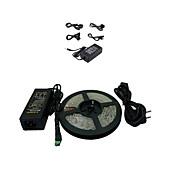 Los 5M 300x5050 SMD calientan la tira del LED de luz blanca y Conector y AC110-240V al transformador DC12V6A