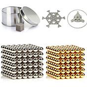 216pcs 3mm bolas magnéticas de bolas magnéticas de oro y de plata bolas de la esfera imán mágico puzzle building block 2 color ejecutivo