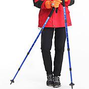 4 ステッキ 徒歩用スティック ノルディックウォーキングスティック 多機能ステッキ トレッキングポールアクセサリー ハイキングポール 110センチメートル(43インチ) ダンピング 堅牢性 滑り止め 長さ調整可 アンチショックシステム 抗衝撃 耐久 女性 軽量 タングステン