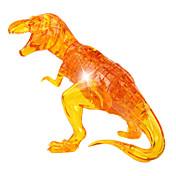 Bloques de Construcción Puzzle Puzzles de Cristal Juguetes Dinosaurio Novedad 50 Piezas