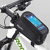 ROSWHEEL Bolsa para Cuadro de Bici Bolso del teléfono celular 4.2 pulgada Cremallera impermeable Listo para vestir Pantalla táctil A