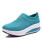 Mujer Zapatos Tul Primavera Verano Otoño Confort Fitness Plataforma Para Deportivo Casual Negro Gris Rojo Azul
