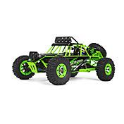 Coche de radiocontrol  WL Toys 12428 2.4G Off Road Car Alta Velocidad 4WD Drift Car Buggy 1:12 Brush Eléctrico 50 KM / H Control remoto