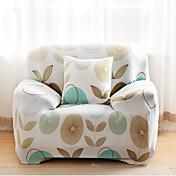 Modern 100% Algodón Cobertor de Sofá, Elástico Flores / Botánica Estampado Fundas