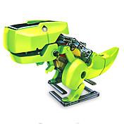 4 in 1 Robot / Juguetes de energía solar Dinosaurio Alimentado por Energía Solar / Educación / Manualidades ABS Niños Chica / Chico Regalo