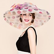 organza fascinators hats headpiece elegante estilo femenino clásico