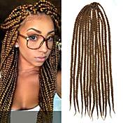 Trenza de la torcedura Trenzas de cabello Senegal Trenzas crochet Cabello 100 % Kanekalon Cabello para trenzas Extensiones de cabello
