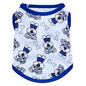 ネコ 犬 Tシャツ 犬用ウェア 高通気性 ファッション 動物 レッド ブルー ピンク コスチューム ペット用