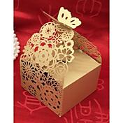 円形 方形 キュービック カード用紙 パール紙 好意のホルダー とともに レース 捺染 ラッピングボックス/ギフトボックス ギフトボックス