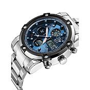 ASJ Hombre Reloj digital Reloj de Pulsera Reloj de Vestir Reloj de Moda Reloj Deportivo Japonés Cuarzo Digital Cronógrafo Resistente al