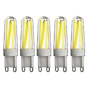G9 LED2本ピン電球 T 4 LEDの COB 調光可能 温白色 クールホワイト 350lm 3000/6000K 交流220から240V
