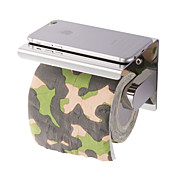 棚を持つ新しい防錆ステンレス鋼304浴室紙電話ホルダー