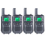 frs / gmrs duarable handheld radios de dos vías para niños niños usan walkie talkie 22 canales 38ctcss hasta 6 km (2 pares)