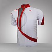 GETMOVING Maillot de Ciclismo Hombre Mujer Unisex Manga Corta Bicicleta Camiseta/Maillot Top Secado rápido Diseño Anatómico Resistente a