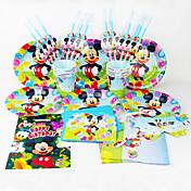 Coches 92pcs decoraciones fiesta de cumpleaños de los niños decoración del partido evnent fuentes del partido utilizan 12 personas