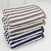 ハンドタオル,染糸 高品質 コットン100% タオル