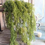 1 1 Rama Poliéster / Plástico Plantas / Otros Flor de Pared Flores Artificiales 25.59Inch/65cm