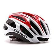 CAIRBULL 女性用 男性用 男女兼用 バイク ヘルメット 29 通気孔 サイクリング サイクリング マウンテンサイクリング ロードバイク レクリエーションサイクリング その他 ハイキング L: 59-63 cm L:58-61CM PC EPSホワイト グリーン